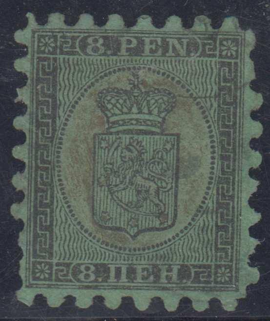 FINLAND Sc 7d Roulette I USED F,VF SCV$375.00