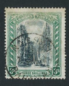 BAHAMAS 1903, 3sh VF USED SG#61 CAT£65 $85 (SEE BELOW)