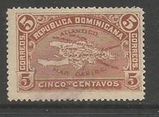 Dominican Republic 115 MNG MAP Z4836-2