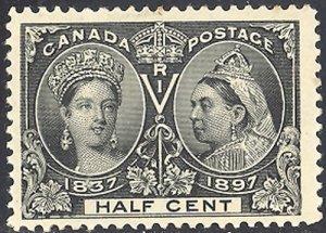 Canada #50 Mint  VF NH  -  Lakeshore Philatelics  LSP50h