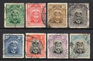 Southern Rhodesia 1924 KGV p/set (8v.) used