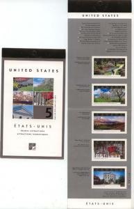 Canada - 2001 60c Tourist Attractions Booklet #BK243b