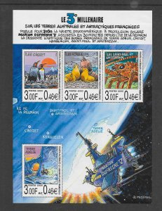 FRENCH SOUTHERN ANTARCTIC TERRITORIES #274 THE THIRD MILLENNIUM    MNH
