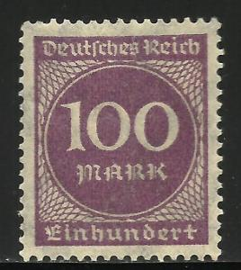 Germany 1923 Scott# 229 MH