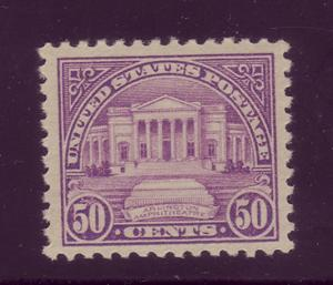 570  MNH, 50c. Regular Issue,  VF-XF scv: $75