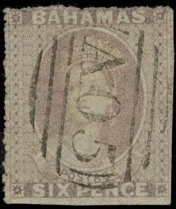 Bahamas Scott 4 Gibbons 6 Used Stamp