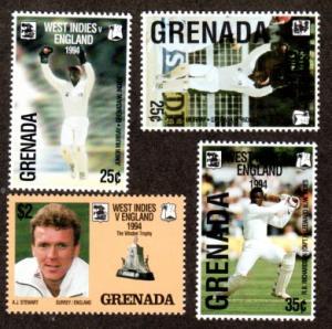 Grenada 2411-2413 Mint NH MNH West Indies vs England!