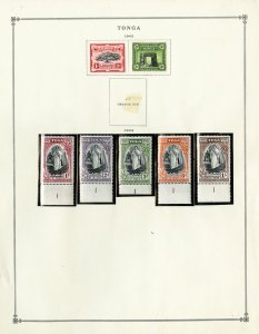 Tonga Clean Mint 1940s to 1980 Stamp Collection