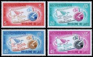 Laos Scott 137-140 (1966) Mint NH VF Complete Set W