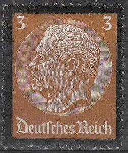 Stamp Germany Mi 548 Sc 437 1934 3rd Reich Death Hindenburg Mourning MNG