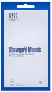 Mounts Showgard, 127/70mm (10ea Black) (00539B)