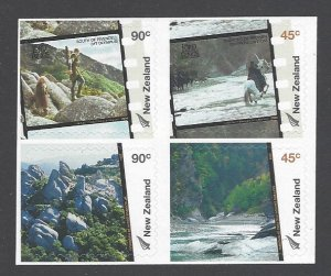 New Zealand Sc # 1964-1967a mint never hinged (RC)