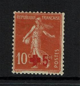 France # B2, Mint Hinged, Hinge Remnant - Lot 073017