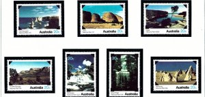 Australia 700-06 MNH 1979 Australian National Parks    (ap5498)