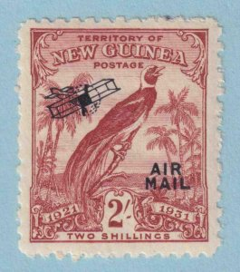 NEW GUINEA C24 AIRMAIL  MINT NEVER HINGED OG ** NO FAULTS EXTRA FINE !