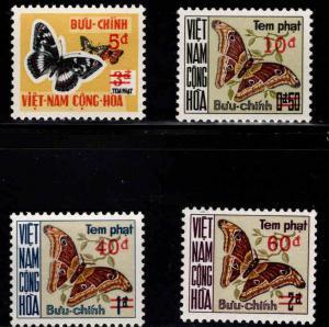 South Vietnam Scott J21-J24 Poage Due MNH** surcharged set
