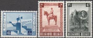 Belgium #B555-7  F-VF Unused CV $70.00