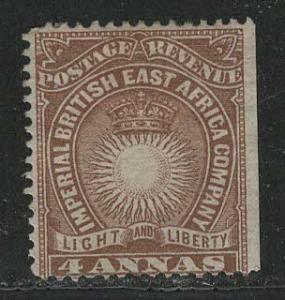 British East Africa Company Scott # 19, unused, no gum