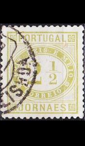 PORTUGAL [1887] MiNr 0065 yb ( O/used )