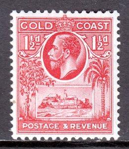 Gold Coast - Scott #100 - MH - SCV $3.00