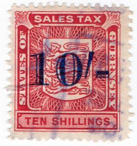 (I.B) Guernsey Revenue : Sales Tax 10/-