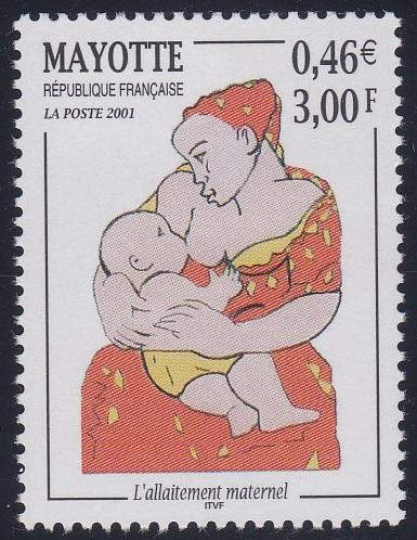 Mayotte 146 MNH (2001)