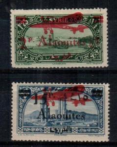 Alaouites Scott C20-1 Mint hinged (Catalog Value $56.50) - couple short perfs