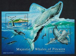 Pitcairn Humpback Whale MS SG#MS723