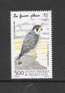 BIRDS - ST PIERRE and  MIQUELON #C73  MNH