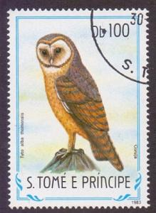 St. Thomas and Prince  1983  used  748  birds  100d.     #