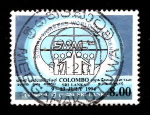Sri Lanka 1994 World Conf. Federation of Social Workers, Colombo 8r Sc.1104 (#2)