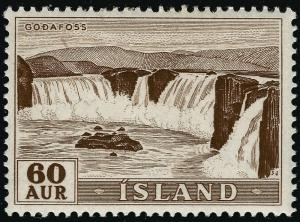 Iceland Waterfalls #291 Mint OG F-VF...Consider before prices rise!