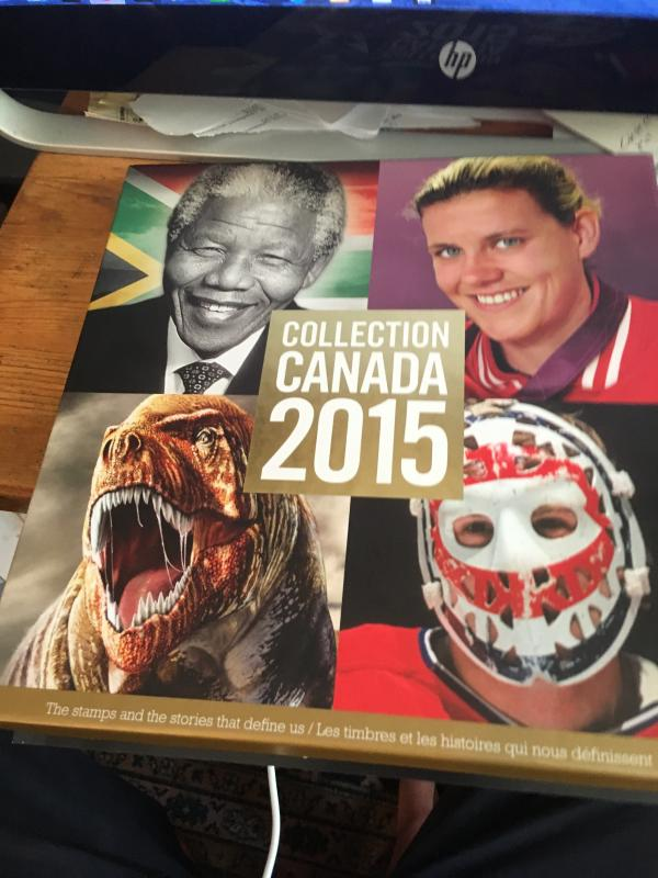 Canada 2015 Annual Souvenir Collection Canada Post Price C$82.95 = US $62. App.