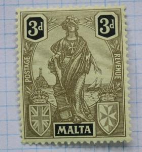 Malta sc#106 Mint MNH OG 3d