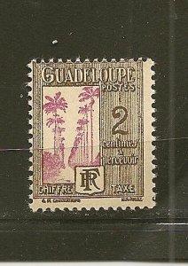 Guadeloupe J25 Postage Due MNH