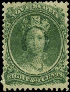 Canada, Nova Scotia  Scott #11 SG #14 Mint Hinged