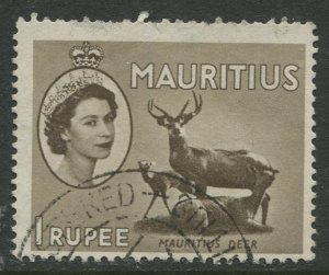 STAMP STATION PERTH Mauritius #262 QEII Definitive Issue FU 1953-1954