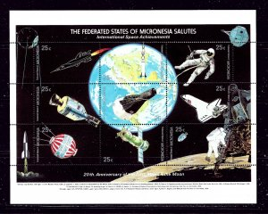Micronesia 81 MNH 1989 20th Anniv of First Moon Landing