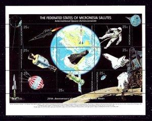 Micronesia 81 MNH 1989 20th Anniv of First Moon Landing