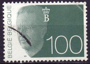 Belgium. 1992. 2533. King. USED.
