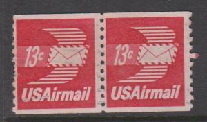 USA Sc#C83 Used Pair
