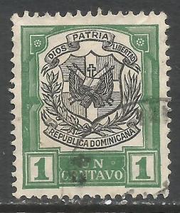 DOMINICAN REPUBLIC 179 VFU ARMS C402-6
