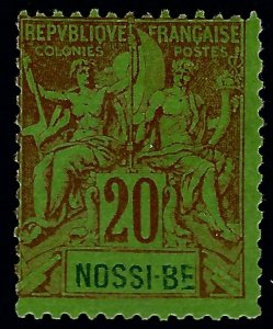 Nossi Be Sc #38 Mint Fine...French Colonies are in Demand!