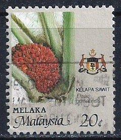 Malaysia-Malacca ~ Scott # 97a ~ Used