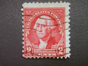 USA, 1932 used, 2c. red, Birth Bicentenary of George Washington. Portraits da...