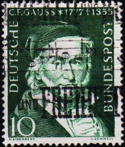 Germany. 1955 10pf  S.G.1130 Fine Used