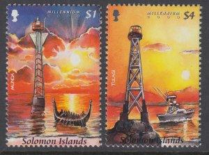 Solomon Islands 891-892 MNH VF