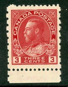 Canada 1931 KGV Admiral 2¢ Carmine Perf 12 x 8 Scott #138 MNH Z586