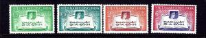 South Vietnam 128-31 MNH 1960 set