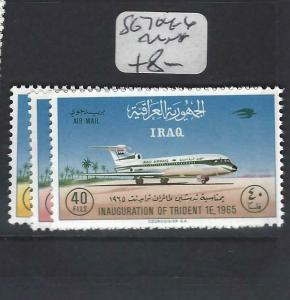 IRAQ (P2205B)   AIRPLANES  SG 704-6   MNH